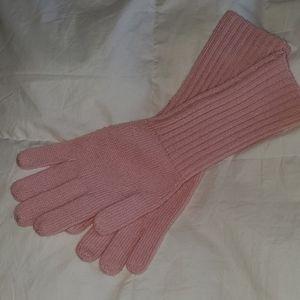 J. Crew Cashmere Long Gloves